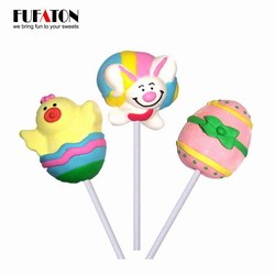 Easter Marshmallow lollipops
