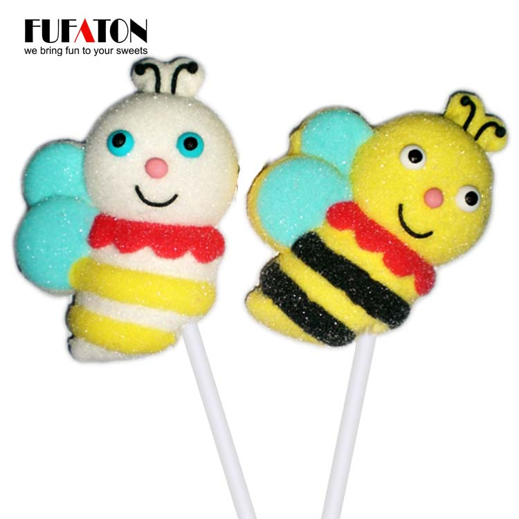 Little Bee Marshmallow lollipops