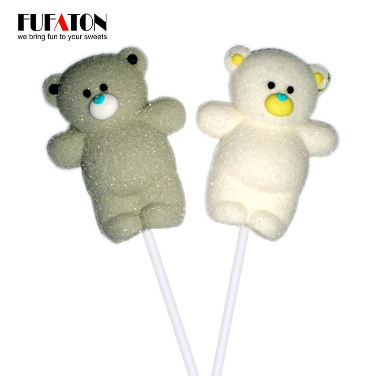 White and Grey Bear lollipop
