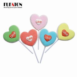 35g Heart Shaped Valentine Candy Sweets Lollipops
