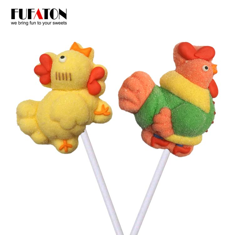 Easter Rooster and Chicken mallowpop