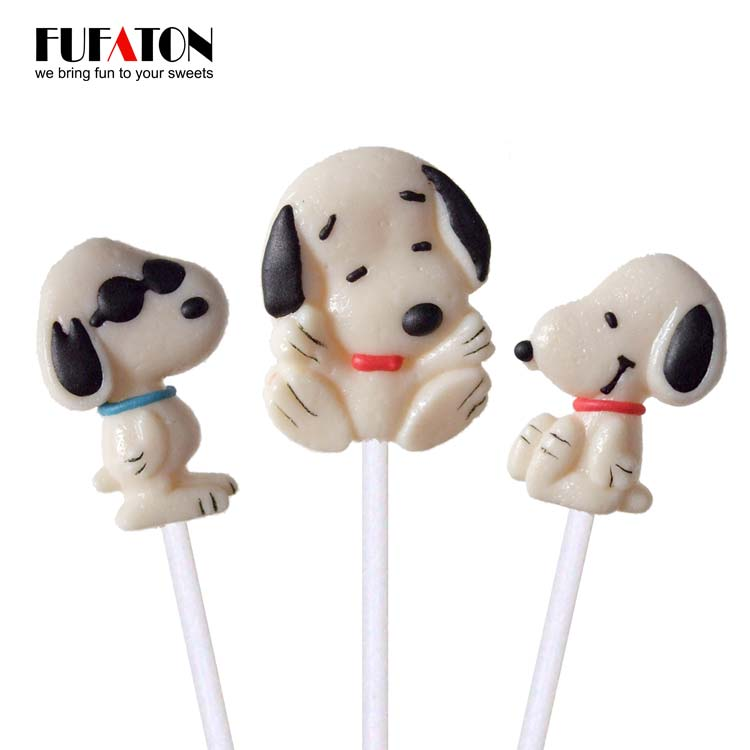 Dog or Puppy shaped Candy Lollipops
