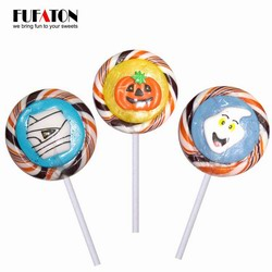 Halloween candy lollipops suitable for children or toddlers