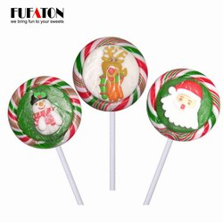 Handmade Christmas Hard lollipop
