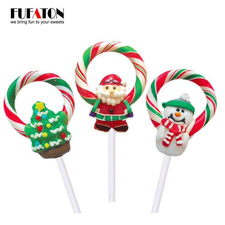 Lollipop Wreath Candy for Christmas Tree