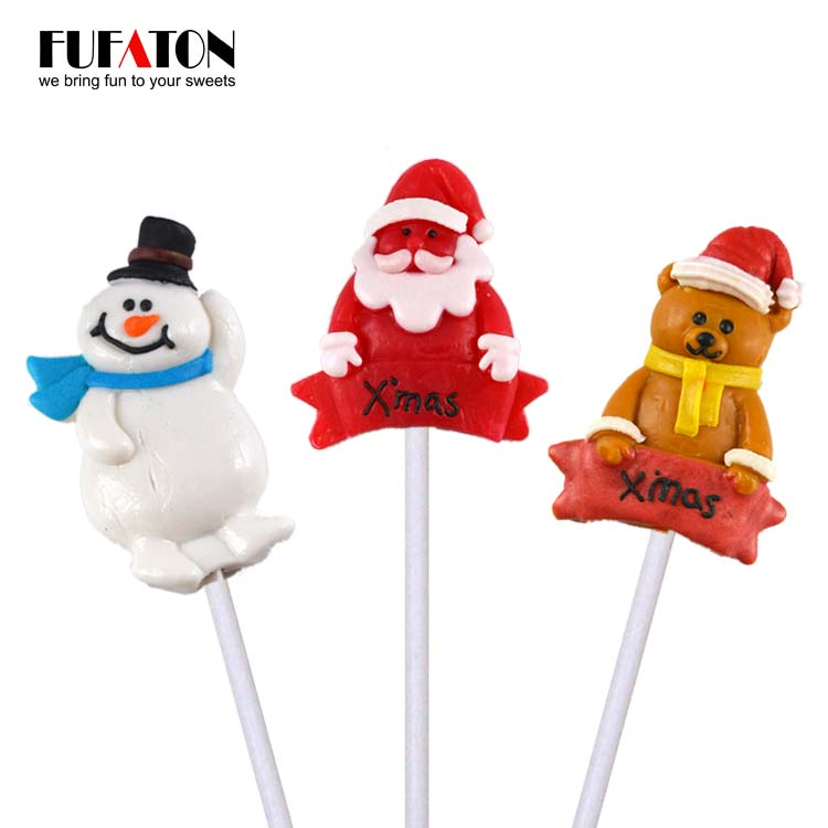 Christmas Snowman Lollipop Candy