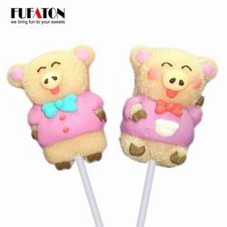 Piglet shaped Jelly lollipop candy