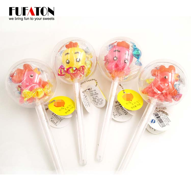 Ball toy lollipops