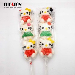 Lovely Hello Kitty Marshmallow Kebab Lollipop Candy