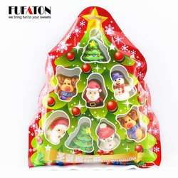 Christmas marshmallow in Tree shaped bags