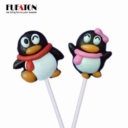Penguin shaped Candy lollipops