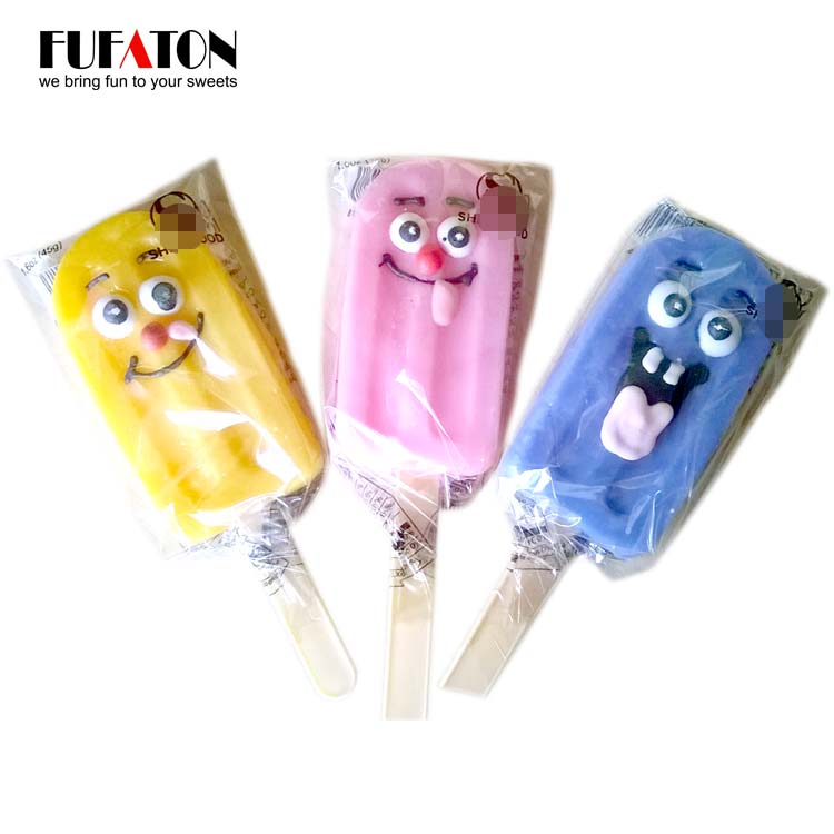 30g Crazy Ice cream shaped Candy Lollipops