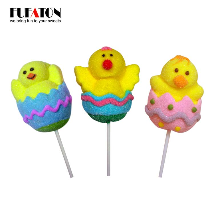 Hand Decorated Marshmallow Eggs for Easter Produced in China