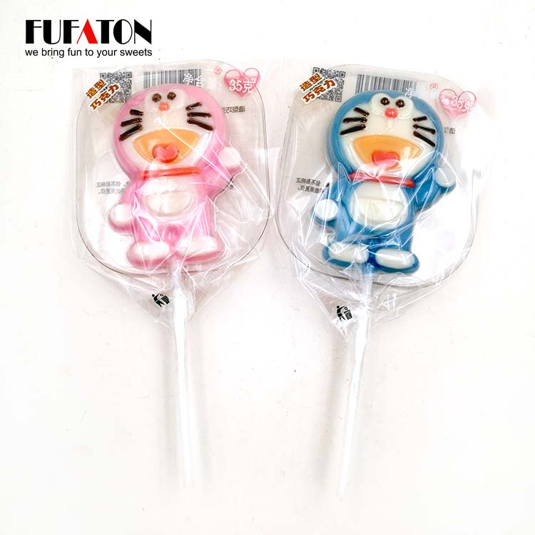 Cat Chocolate Lollipop