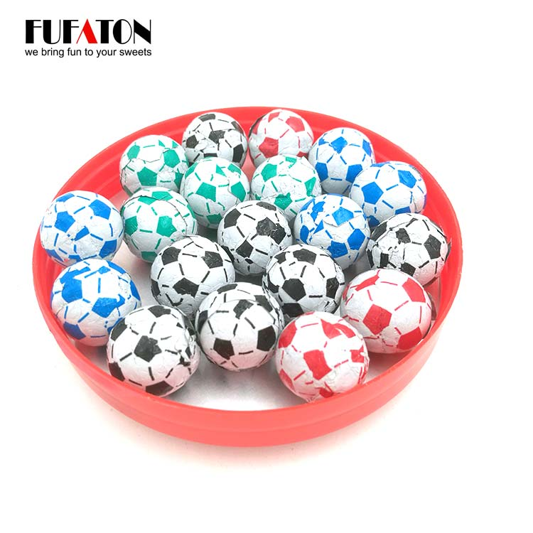 Mini Football Chocolate
