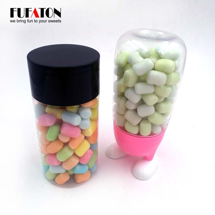 Polished and Coated Marshmallow Candy