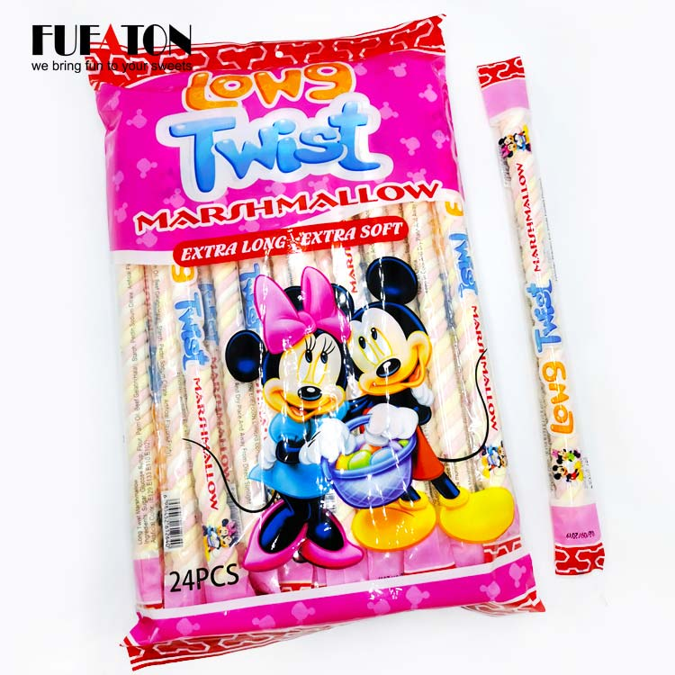 Individually packed Marshmallow Stick Poles