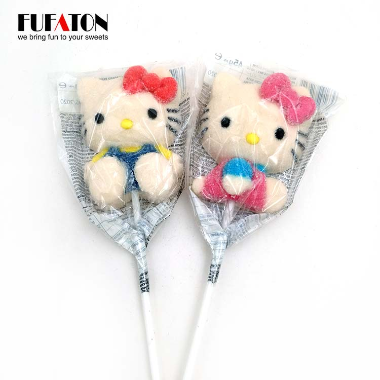 Hand decorated Hello Kitty Shape Mallowpop Candy