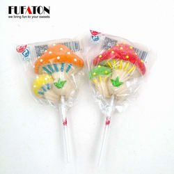 Mushroom Shaped marshmallow Candy Lollipops