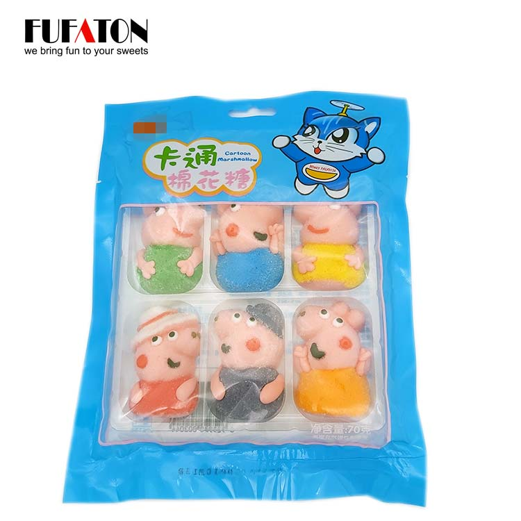 6pk Marshmallow Characters in bag