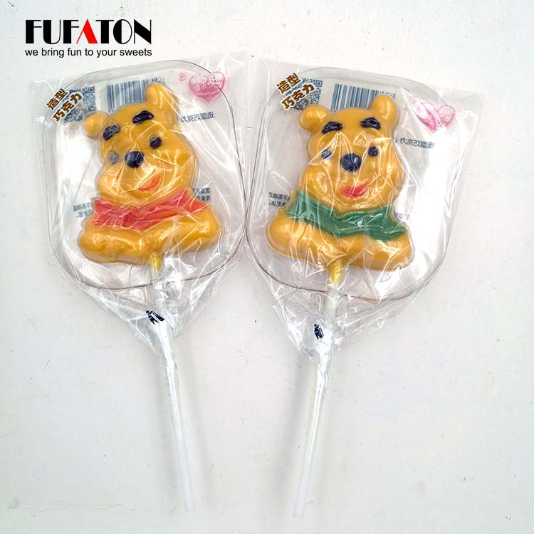 Winnie the Pool Chocolate Lollipop