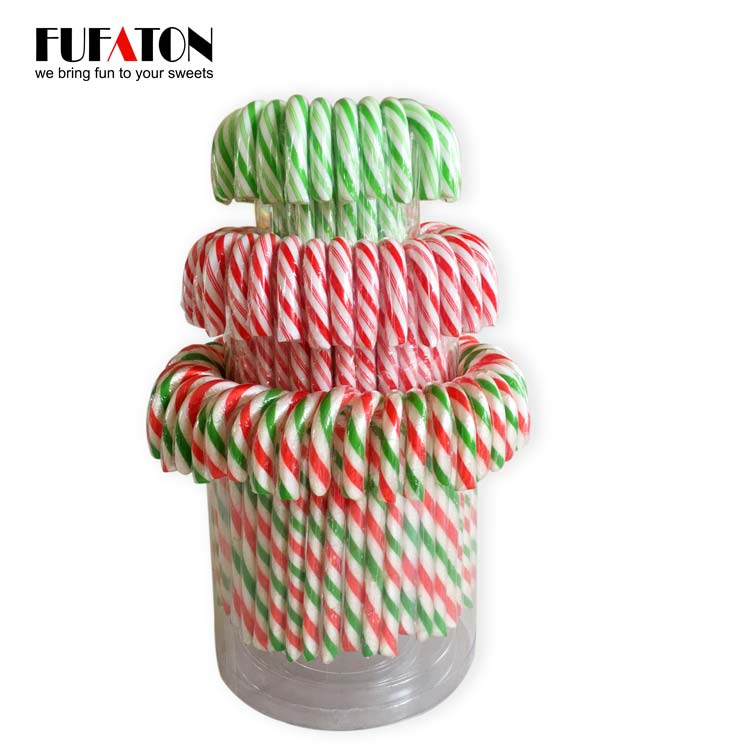 100pk Candy Canes in jar