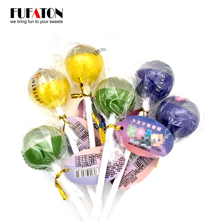 30g Best and Organic Sugar-free Lollipop Candy for Toddlers