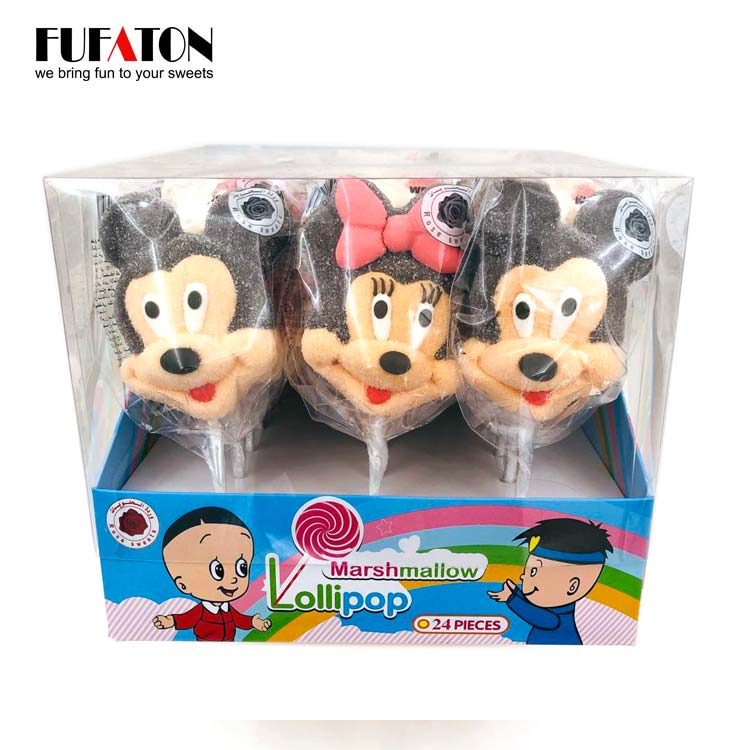 Micky & Minnie Marshmallow lollipops